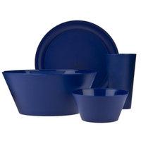 Creative Bath Polypropylene 13-pc. Dinnerware Set - Navy