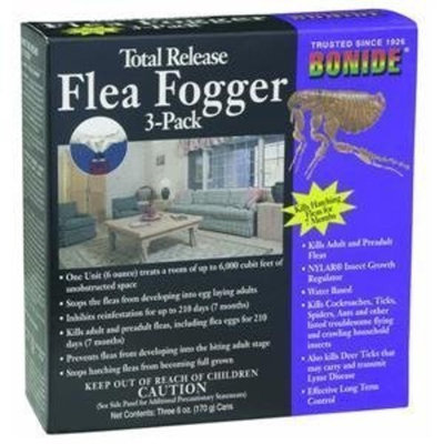 Flagline Bonide Chemical Total Release Flea Fogger, 6-Ounce, 3-Pack