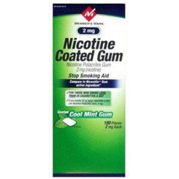 Members Mark Member's Mark Original Nicotine Gum 2MG - 180ct