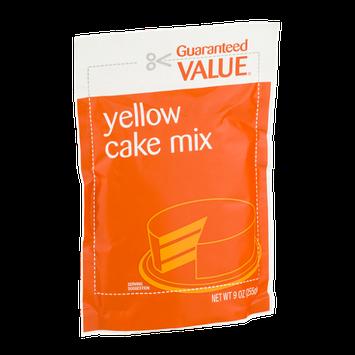 Guaranteed Value Yellow Cake Mix
