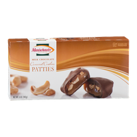 Manischewitz Milk Chocolate Caramel Cashew Patties