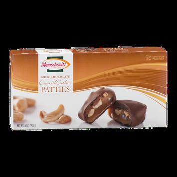 Manischewitz Milk Chocolate Caramel Cashew Patties