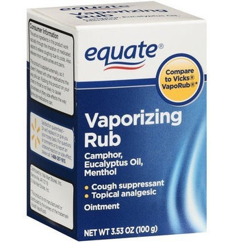 Equate - Vaporizing Rub, 3.53 oz (Compare to Vicks VapoRub)