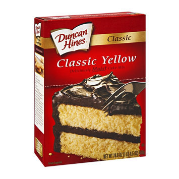Duncan Hines Decadent Classic Cake Mix Classic Yellow