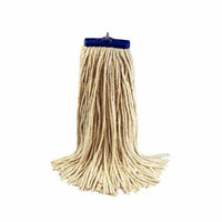 UNISAN 32 oz Economical Lie Flat Mop Head in White