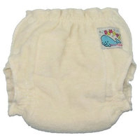 Mother-Ease Sandy's Cloth Diaper - Unbleached - Large (20-35 lbs)
