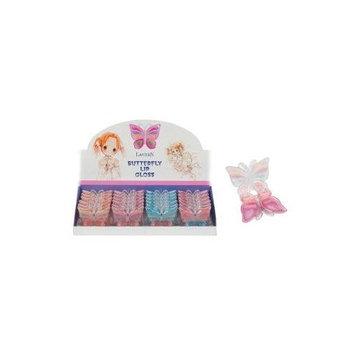DDI Butterfly Lip Gloss Case Pack 144 - 394208