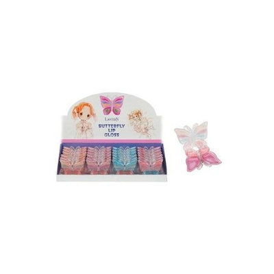 DDI Butterfly Lip Gloss Case Pack 144 - 394208
