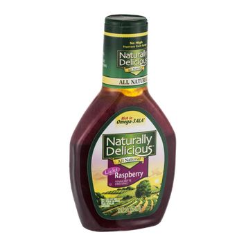 Naturally Delicious Raspberry Vinaigrette Dressing Light
