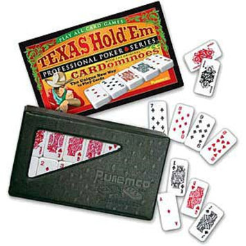 Texas Hold Em CARDominoes Game Ages 6+, 1 ea