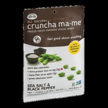 Cruncha Ma-Me Freeze-Dried Edamame Veggie Snack Sea Salt & Black Pepper