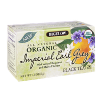 Bigelow All Natural Organic Imperial Earl Grey Black Tea - 20 Tea Bags