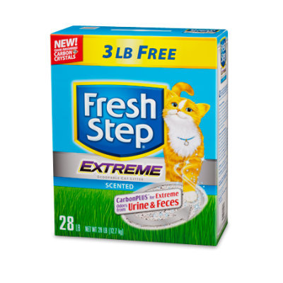 Fresh Step® Scoopable Clumping EXTREME Odor Control