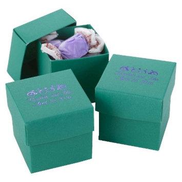 Hortense B. Hewitt Emerald Favor Boxes