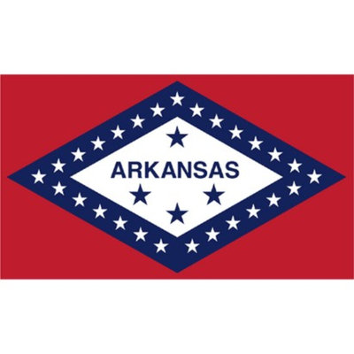 Annin Arkansas State Flag - 4' x 6'