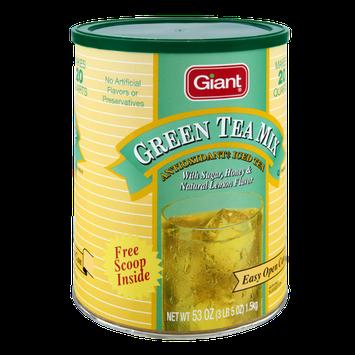 Giant Honey & Natural Lemon Flavor Green Tea Mix