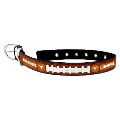 GameWear Texas Longhorns Classic Leather Medium Football Collar