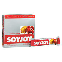 Soyjoy All Natural Baked Whole Soy & Fruit Bars 12 Pack Berry