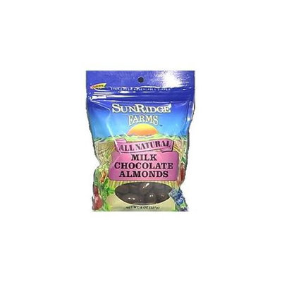 SunRidge Farms Candy Almond Cane Choc Co 8 OZ -Pack Of 12