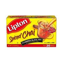 Lipton® Flavored Black Tea Spiced Chai Tea Bags