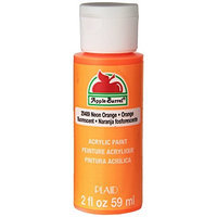 Plaid 20501 Apple Barrel 2-Ounce Acrylic Paint, Bright Red [Bright Red]