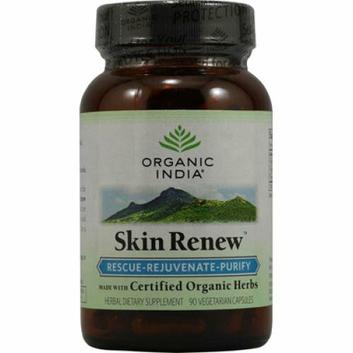 Organic India Skin Renew 90 Vegetarian Capsules