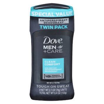 Dove Beauty Dove Clean Comfort Deodorant for Men - 2.7 oz