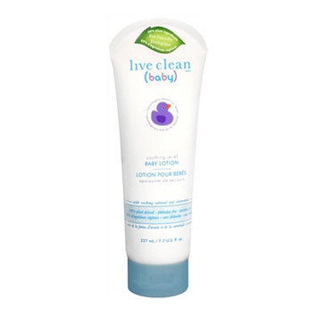 Live Clean Baby Soothing Relief Baby Lotion