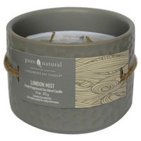Pure and Natural Pure & Natural™ Ceramic Jar Candle London Mist - Small