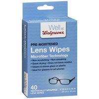 Walgreens Lens Wipes Micro Fiber