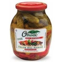 Othentic, Pickle Dill Polish Red Pppr, 30.4 OZ (Pack of 6)