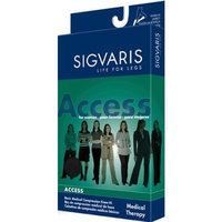 Sigvaris 970 Access Series 30-40 mmHg Women's Closed Toe Pantyhose Size: Large Short (LS)