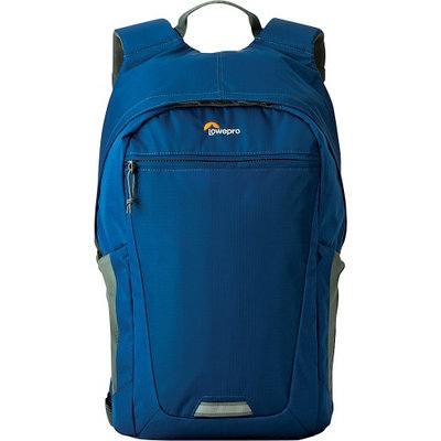 Lowepro Photo Hatchback BP 250 AW II Backpack for DSLR and Tablet, Midnight Blue and Gray