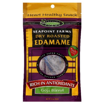 Seapoint Farms Edamame Dry Roasted,12 Pack