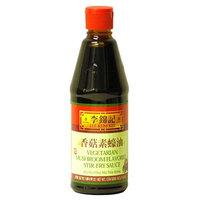 Lee Kum Kee Vegetarian Mushroom Flavored Stir-fry Sauce, 20-Ounce Bottle (Pack of 3)