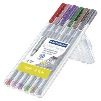 Staedtler Black Fine tip Felt tip Marker Pen