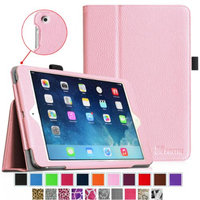 Fintie Folio Slim-Fit Case Cover for Apple iPad Mini 2 with Retina Display (2013) & Mini (2012), Pink