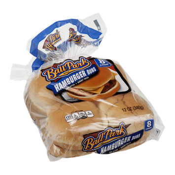 Ball Park Hamburger Buns - 8 CT