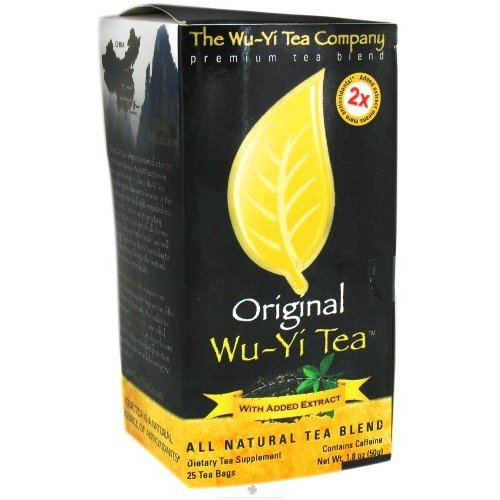 The Wu-yi Tea Company The Wu Yi Tea Company Tea Original, 25-Count