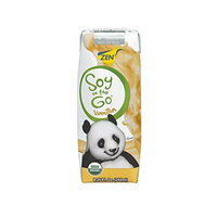 ZenSoy Soy-On-The-Go Soymilk, Vanilla, 8.25-Ounce Aseptic Packages (Pack of 15)