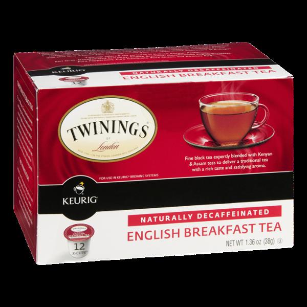 Twinings of London Keurig K-Cups English Breakfast Tea