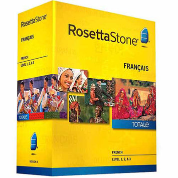 ROSETTA STONE Rosetta Stone Version 4 French Levels 1-3 Set (PC/Mac)