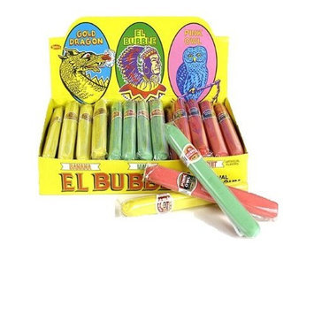 Big Choice El Bubble Bubble Gum Cigars 36 Count Box