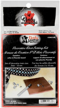 The Leather Factory 3462 Decorative Rivet Setting Kit