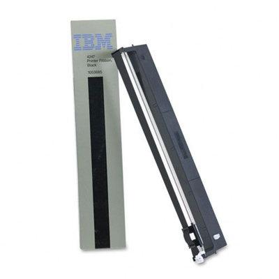 Ibm IBM 1053685 Printer Ribbon, Nylon, 15M Yield, Black