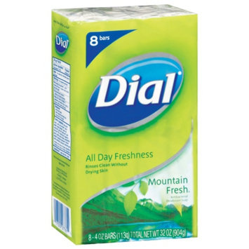 Dial® Antibacterial Deodorant Mountain Fresh Bar Soap