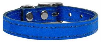 Ahi Plain Metallic Leather Metallic Blue 26