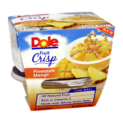 Dole Pineapple Mango Fruit Crisp