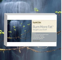 Burn More Fat Crystal Star 3-Pack Kit