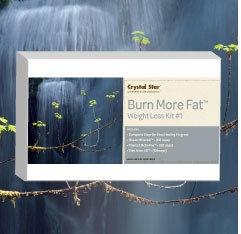 Burn More Fat Crystal Star 3-Pack Kit